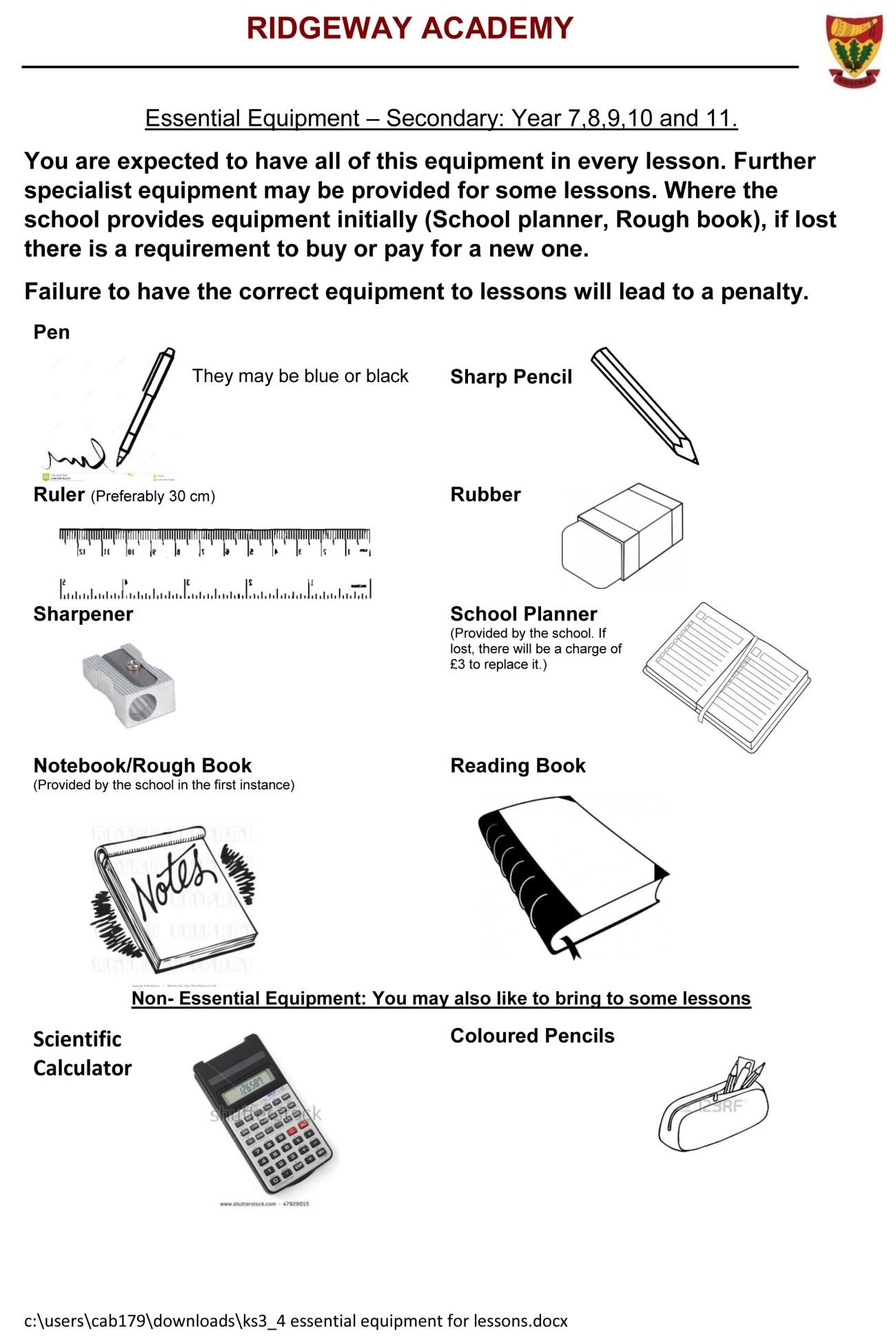 KS3_4 Essential equipment for lessons.jpg