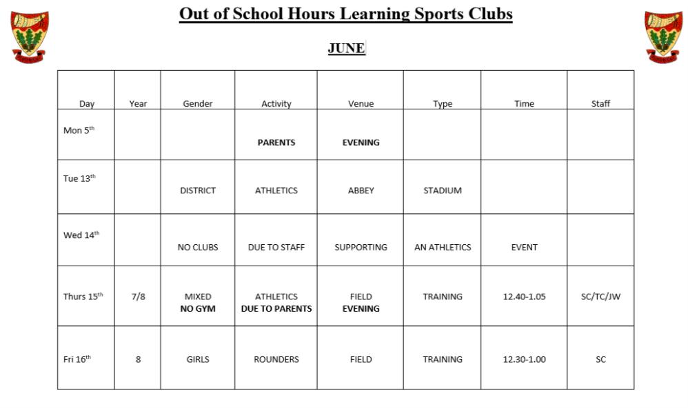 sportsclubs