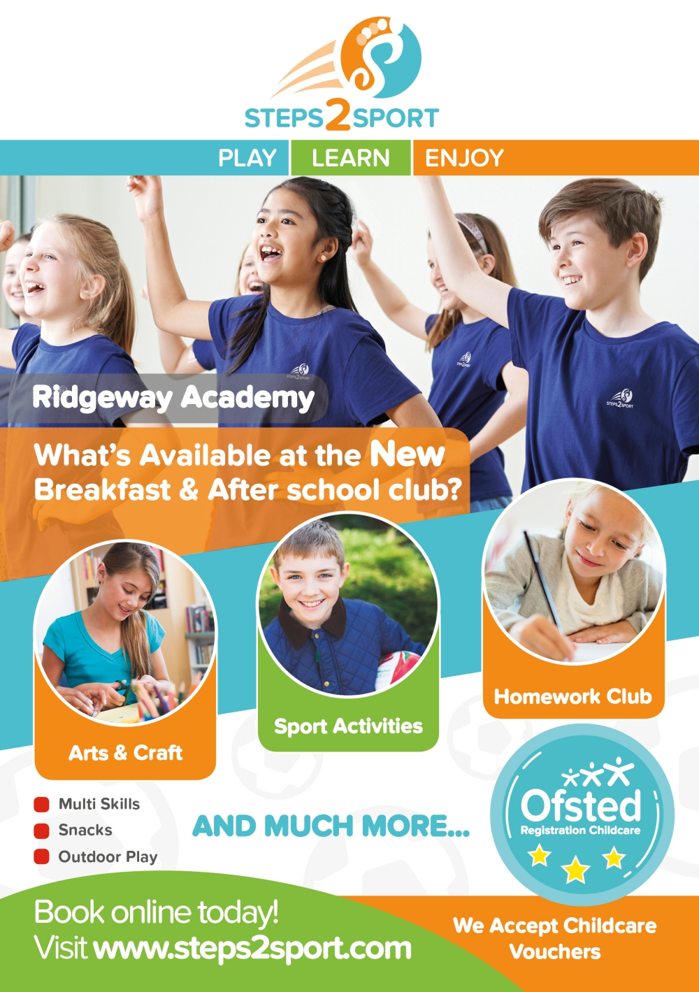 Breakfast & After school Club Ridgeway